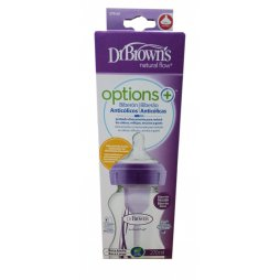 Dr. Brown´s Biberon BA Morado 240ml